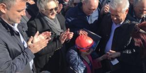 Θεοφάνια – Ηράκλειο: Μία 9χρονη έπιασε το σταυρό στην Παντάνασσα