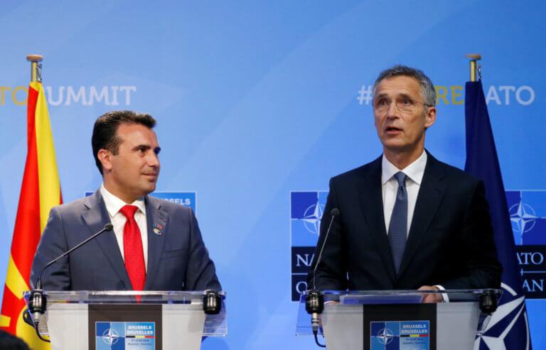 Η… «Βόρεια Μακεδονία» μπαίνει στο ΝΑΤΟ! Στάλθηκε στα κράτη – μέλη το κείμενο της ένταξης