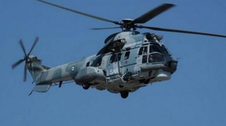 Ρόδος: Αεροδιακομιδή ναυτικού από πλοίο – Σηκώθηκε ελικόπτερο Super Puma! | Newsit.gr