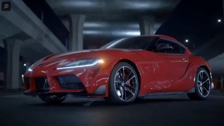 Αυτό είναι το εσωτερικό της νέας Toyota Supra