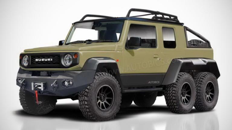 Τι θα λέγατε για ένα Suzuki Jimny 6×6! [vid]