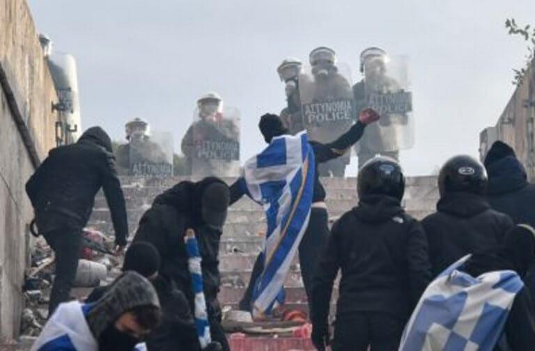 Γνωστό μέλος της Χρυσής Αυγής πρωτοστάτησε στα επεισόδια κατά της Συμφωνίας των Πρεσπών! | Newsit.gr