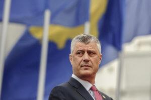 Σερβία: Έτοιμος για συμβιβασμούς δηλώνει ο Κοσοβάρος πρόεδρος Θάτσι