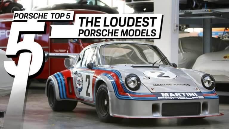 Τα πέντε πιο θορυβώδη αγωνιστικά μοντέλα της Porsche [vid]