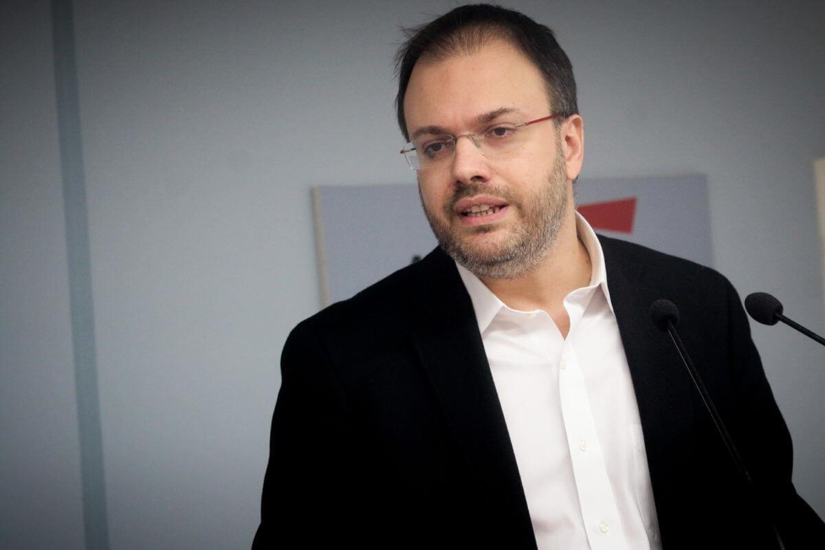 Θεοχαρόπουλος: Αυτή την στιγμή δεν τίθεται θέμα προσχώρησης στο Ποτάμι