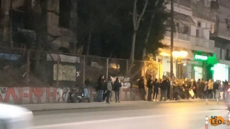 Θεσσαλονίκη: Πορεία για τη συμπλήρωση ενός έτους από τον εμπρησμό της κατάληψης Libertatia | Newsit.gr