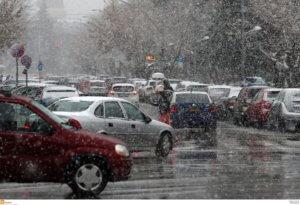 Λευκή νύχτα στη Θεσσαλονίκη – Πάγωσαν τα θερμόμετρα