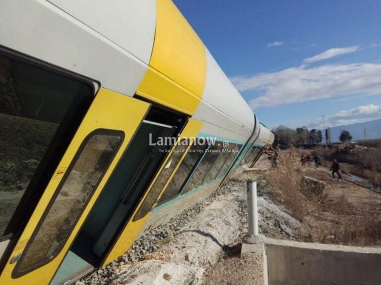 Φθιώτιδα: Εκτροχιασμός τρένου στο Λιανοκλάδι – Έτσι γλίτωσαν όλοι οι επιβάτες – Αποκαλυπτικές εικόνες [pics]