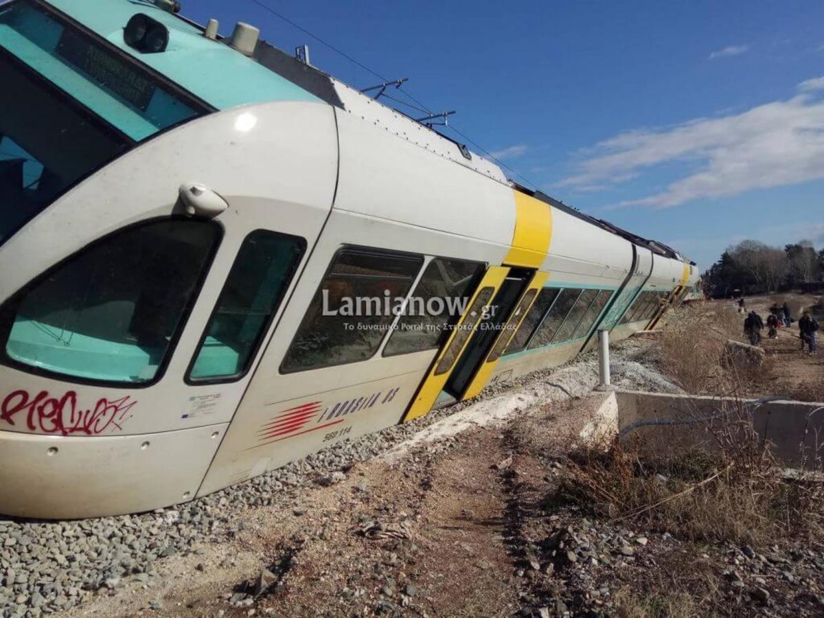 Εκτροχιασμός τρένου στο Λιανοκλάδι – Έτσι γλίτωσαν όλοι οι επιβάτες – Αποκαλυπτικές εικόνες