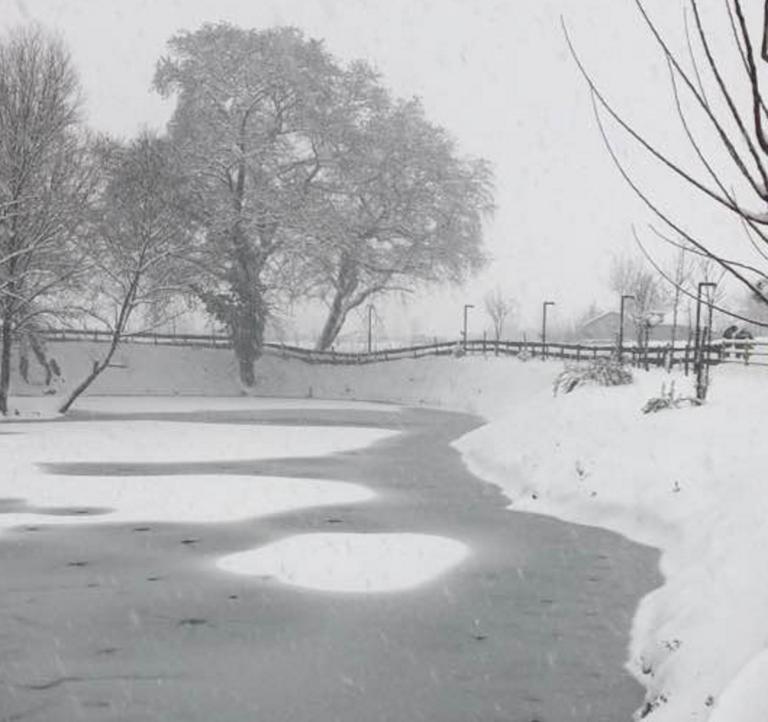 Καιρός: Άγρια ομορφιά σε Τρίκαλα και Καρδίτσα – Το ποτάμι που πάγωσε και τα δέντρα που λύγισαν – video   Newsit.gr
