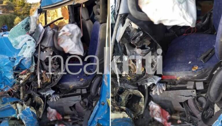 Κρήτη: Σκληρές εικόνες σε τροχαίο με νεκρό οδηγό – Υπάλληλος του ΟΤΕ ξεψύχησε εγκλωβισμένος [pics] | Newsit.gr