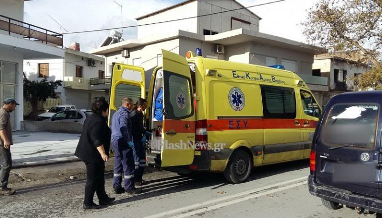 Χανιά: Χαροπαλεύει πεζός που παρασύρθηκε από αυτοκίνητο – Οργή για την κίνηση του οδηγού πριν τον εγκαταλείψει [pics]