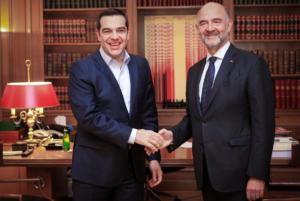 Συνάντηση Τσίπρα – Μοσκοβισί… όλο νοήματα για την ψήφο εμπιστοσύνης [pics]