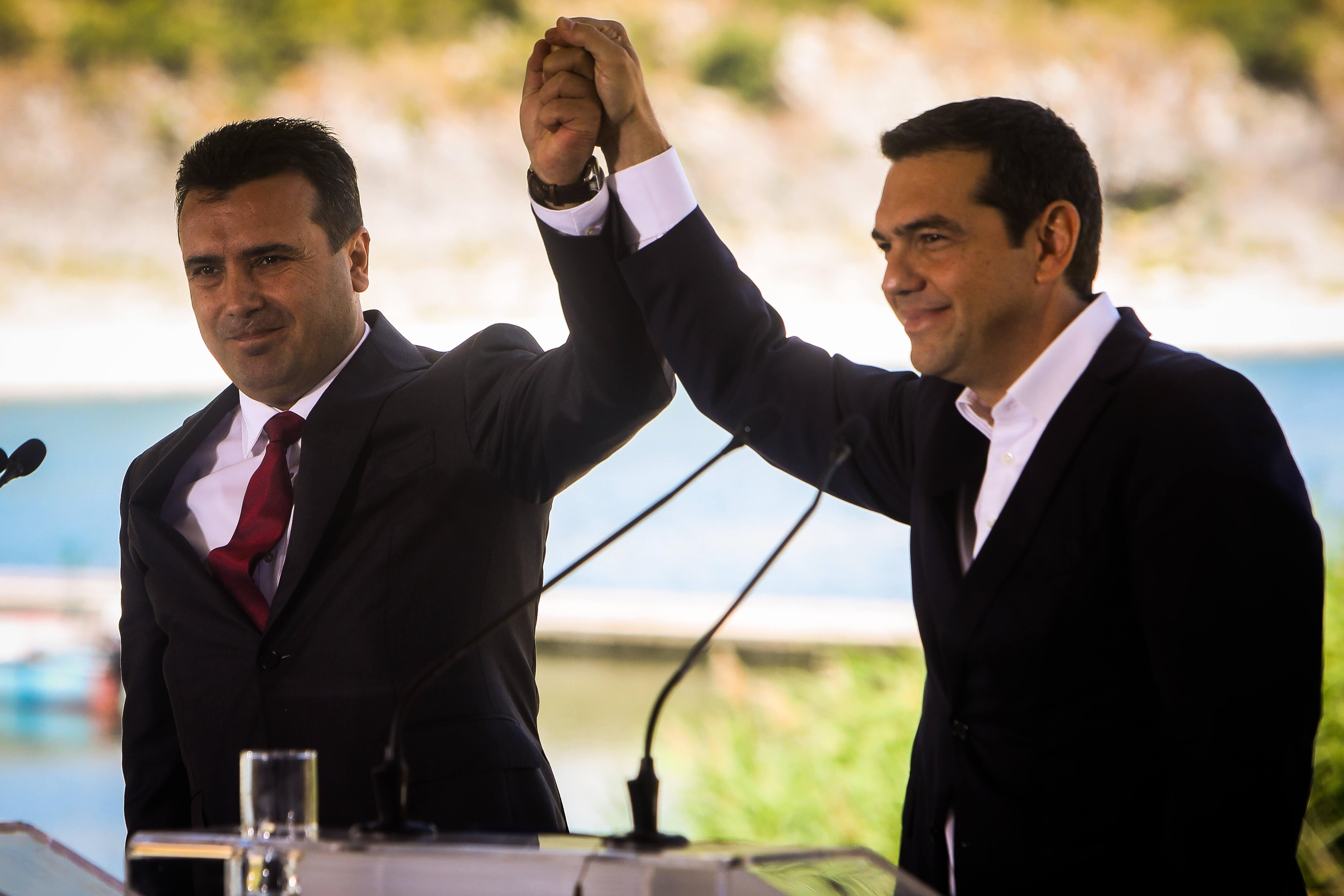 Το Βραβείο Ειρήνης της Έσσης για τη συμφωνία των Πρεσπών στους Ζόραν Ζάεφ και Αλέξη Τσίπρα