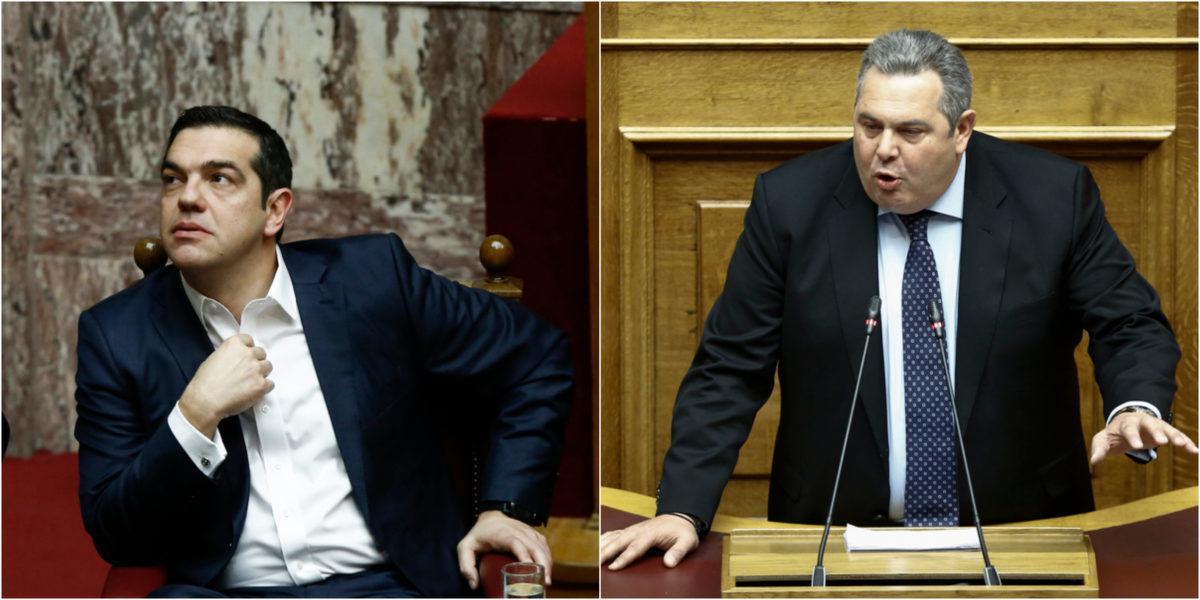 Βουλή: Τσίπρας - Καμμένος δεν αντάλλαξαν... ματιά! [pics]