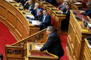 Κυβέρνηση σε νευρική κρίση λόγω… Καμμένου – Πιέσεις στον Παπαχριστόπουλο να μην παραιτηθεί