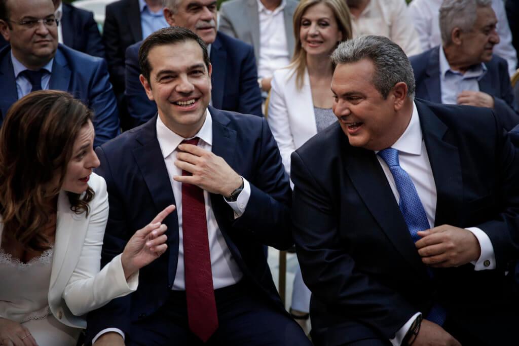Συμφωνία των Πρεσπών Τσίπρας Καμμένος