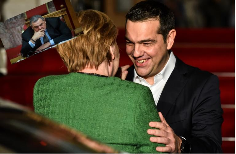 Τσίπρας: Με «αβάντα» Μέρκελ στο… πόκερ με Καμμένο!