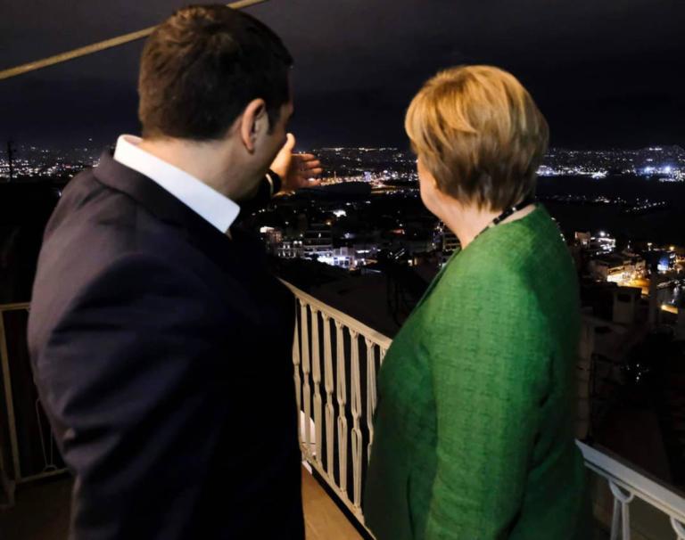 Τσίπρας – Μέρκελ στο… μπαλκόνι με μαγευτική θέα [pics] | Newsit.gr