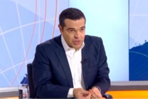 Τσίπρας: Η… ζημιά στο στούντιο και το βλέμμα απορίας! video