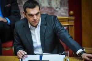 """Συμφωνία των Πρεσπών: Νέα πυρά Τσίπρα προς Μητσοτάκη – """"Διγλωσσία και παιχνίδι με την ακροδεξιά"""""""