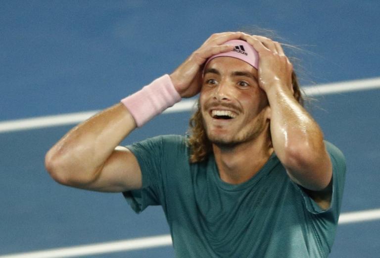 Έπος! Μέγας Τσιτσιπάς – Απέκλεισε τον Φέντερερ στο Australian Open- video | Newsit.gr