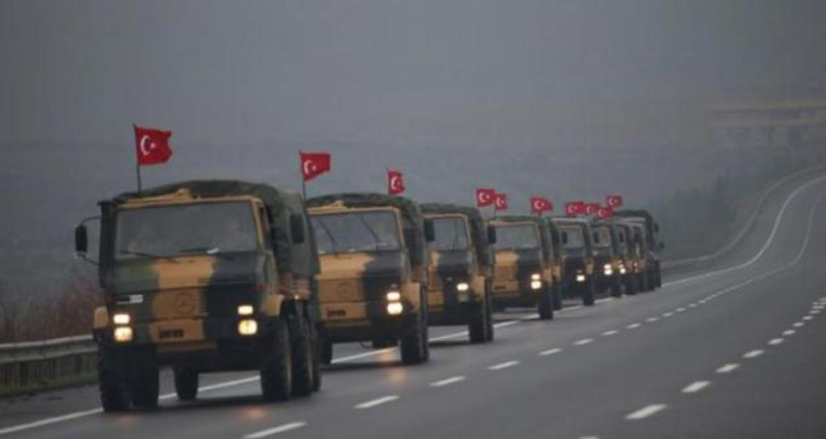 """Συνεχίζεται με εντολή του """"Σουλτάνου"""" η συγκέντρωση δυνάμεων στα σύνορα με τη Συρία!"""
