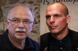 """Στα """"μαχαίρια"""" Βαρουφάκης – Παπαδημούλης! Αλληλοκατηγορίες με φόντο τις ευρωεκλογές!"""