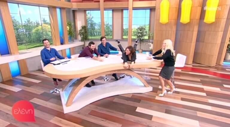 Ξάπλωσε στο τραπέζι της Μενεγάκη η Σταυροπούλου! Ούρλιαζε ο Χατζηδάκης: «Κρατήστε το!» | Newsit.gr