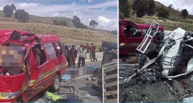 Μετωπική λεωφορείων σκόρπισε τον θάνατο στη Βολιβία – video