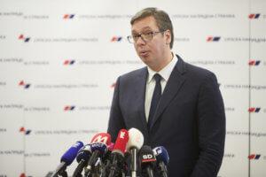 Βούτσιτς: Η Σερβία έτοιμη να αναγνωρίσει την Βόρεια Μακεδονία
