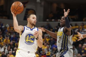 NBA: Δεν έχουν αντίπαλο οι Γουόριορς! Διέλυσαν και τους Πέισερς – video