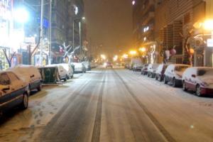 Προσοχή! Διακοπές κυκλοφορίας λόγω χιονόπτωσης στην Αττική