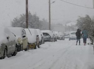 """Καιρός: Σε λευκό κλοιό όλη η χώρα μια ημέρα πριν την έλευση της """"Σοφίας"""" – Πολικές θερμοκρασίες την Πέμπτη!"""