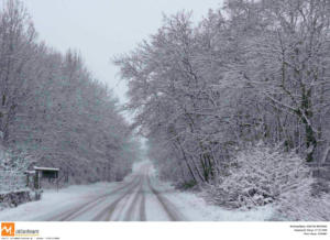 Καιρός: Χιόνια και βροχές και αύριο σε Μακεδονία και Θράκη