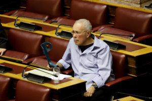 Βουλή: «Σατανάς» Ζουράρις! Το αστείο που έκανε «με το καλημέρα»! video