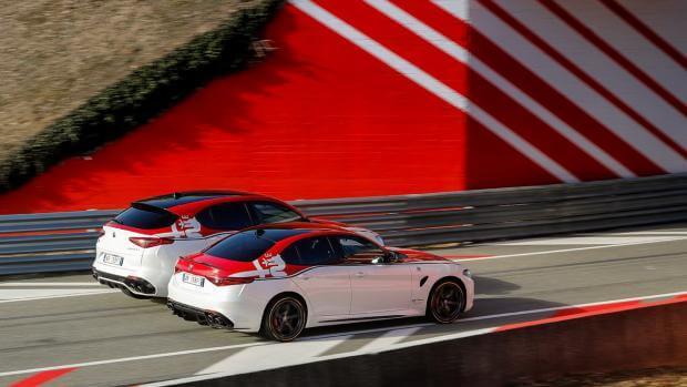 Νέες σπέσιαλ εκδόσεις «Racing» και «Ti» για τις Alfa Romeo Giulia και Stelvio