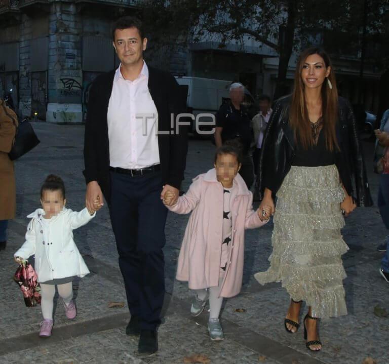 Αντώνης Σρόιτερ – Ιωάννα Μπούκη: Μαγικές στιγμές στην Αράχοβα με τις κόρες τους! Video