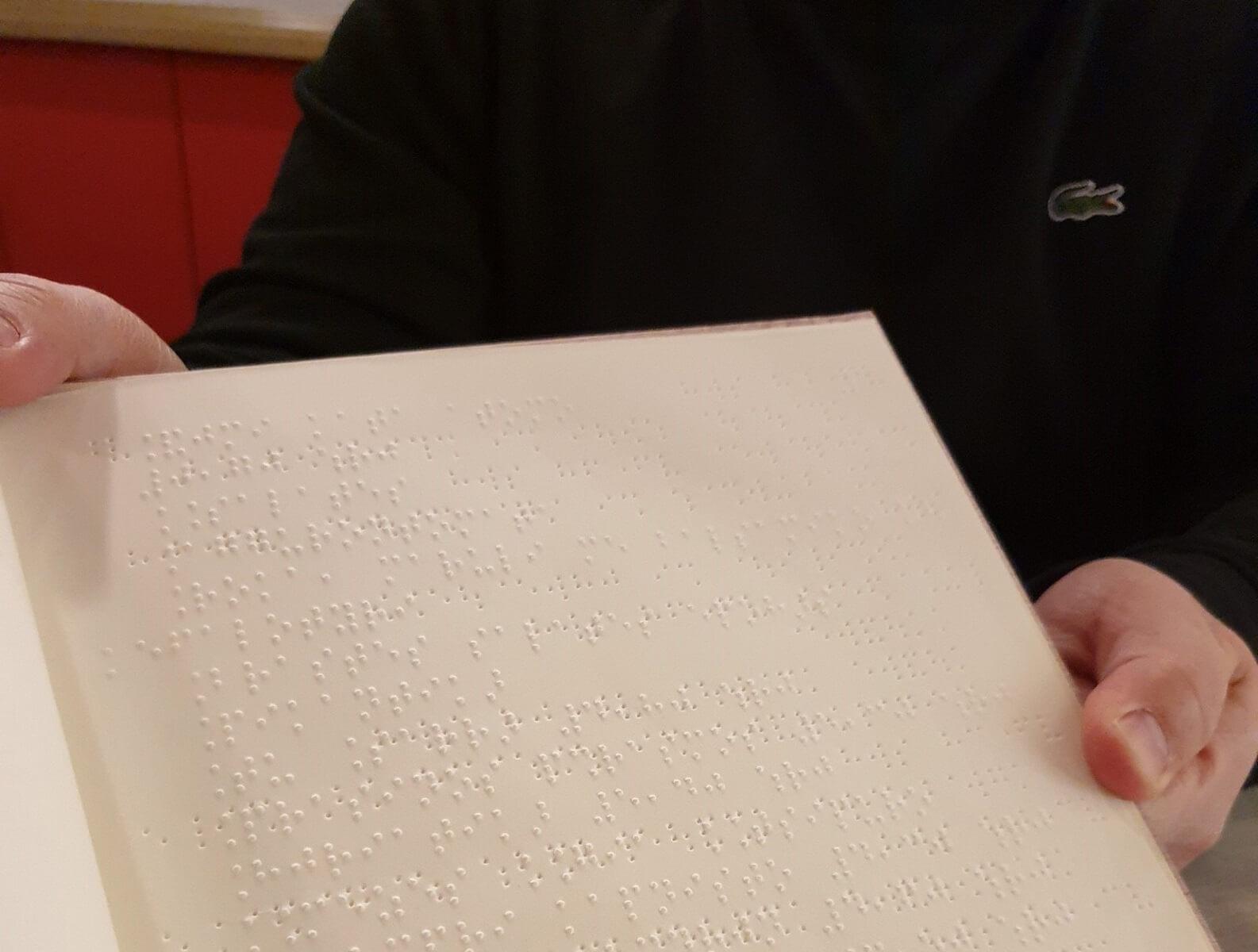Καβάλα: Εστιατόριο προσφέρει το μενού του σε γραφή Μπράιγ