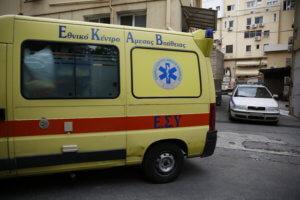 Γρεβενά: Σε κρίσιμη κατάσταση άνδρας που έπεσε από τον τρίτο όροφο