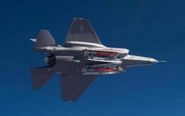 Έτσι τα stealth μαχητικά F-35 των ΗΠΑ θα καταστρέφουν τα πυρηνικά του Πούτιν και της Κίνας [pics,vid]
