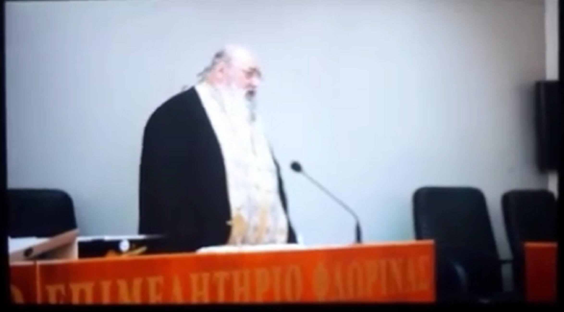 Ιερέας σε βουλευτή του ΣΥΡΙΖΑ: Προδώσατε την πατρίδα, σας προτρέπω σε δημόσια μετάνοια! video