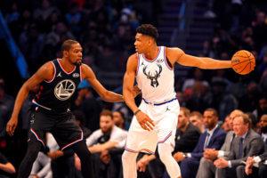"""""""Βόμβα"""" με Αντετοκούνμπο στο NBA! Εξετάζεται για αντι – Ντουράντ από τους Γουόριορς [pics]"""