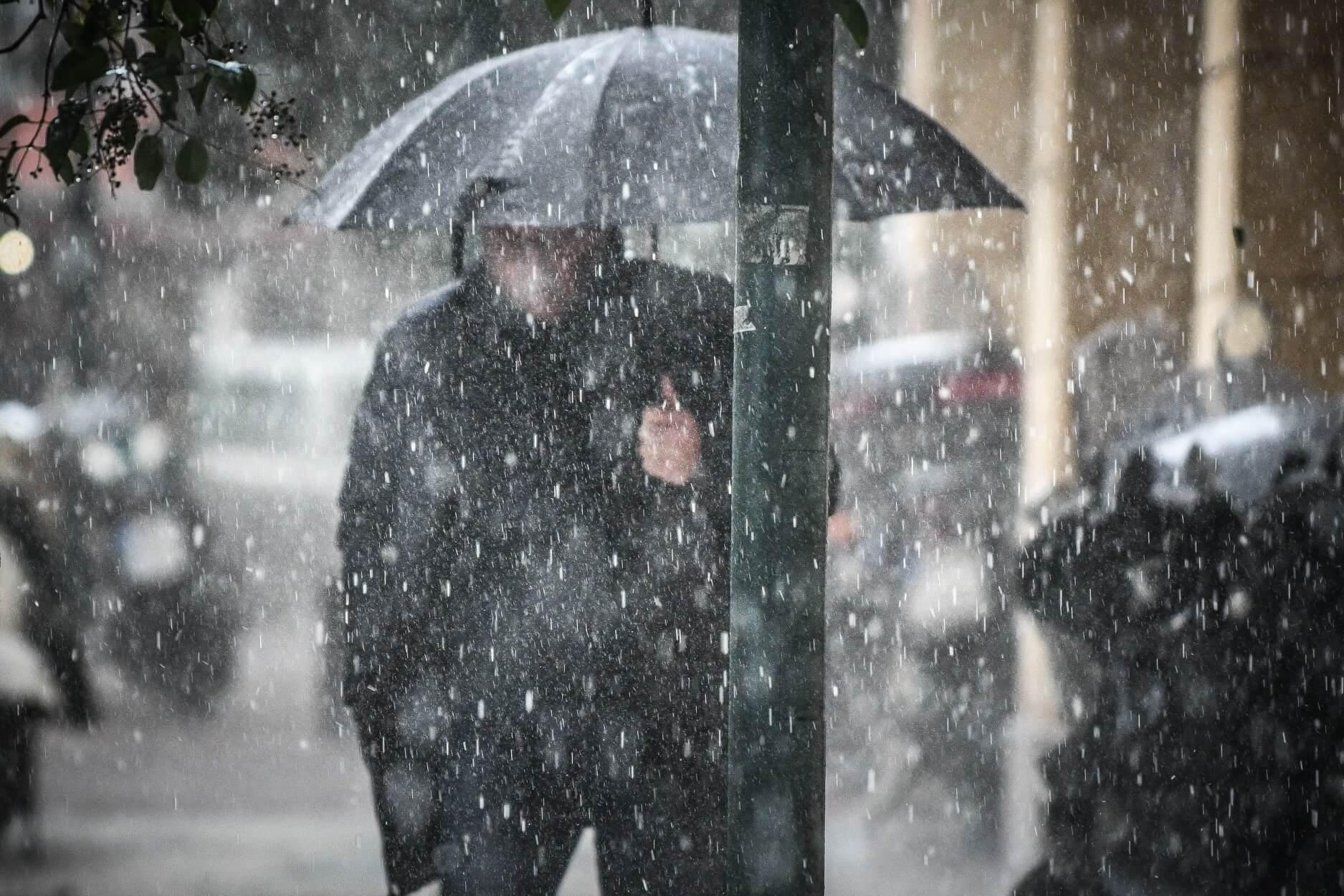 Κύπρος: Σφοδρή κακοκαιρία με καταιγίδες, χαλάζι και χιόνια!