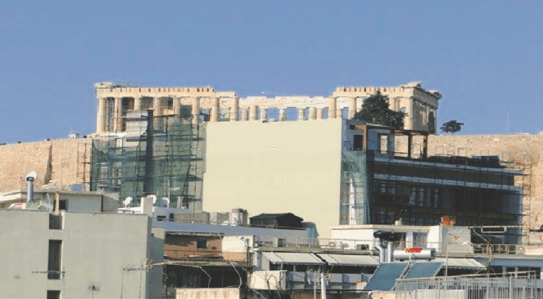 """""""Εξαφανίζουν"""" την Ακρόπολη τα 10οροφα κτίρια"""
