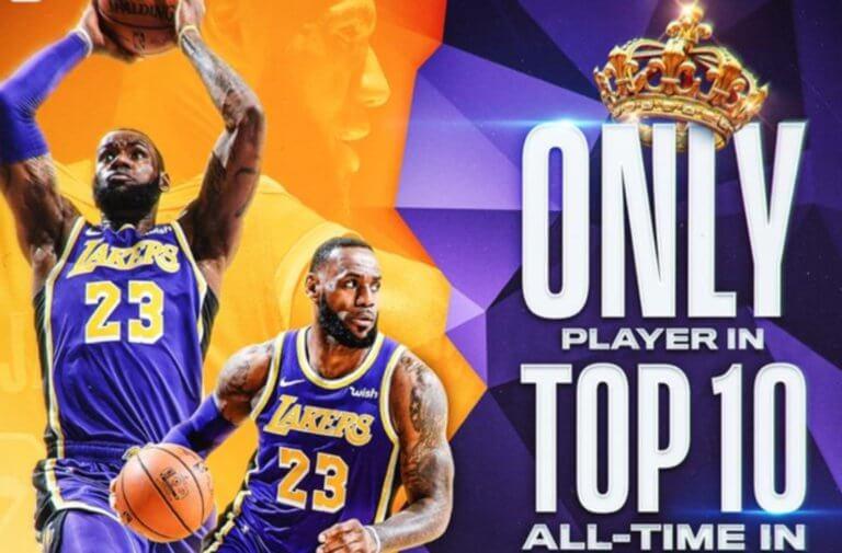 "NBA: Ο Λεμπρόν Τζέιμς έγραψε… ιστορία και τα ""έχωσε"" στους συμπαίκτες! video"