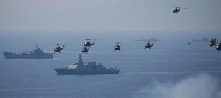 Σε εξέλιξη η άσκηση «Γαλάζια Πατρίδα» υπό το άγρυπνο βλέμμα του Πολεμικού Ναυτικού