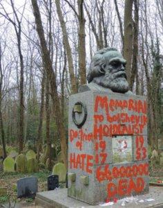 Λονδίνο: Έγραψαν με κόκκινη μπογιά στον τάφο του Καρλ Μαρξ!