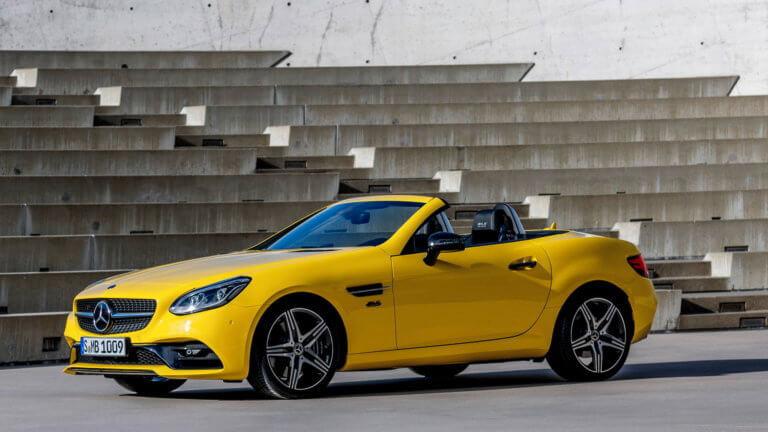 Τέλος στην παραγωγή της Mercedes-Benz SLC με μια εορταστική έκδοση | Newsit.gr