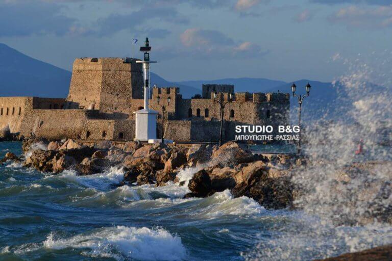 Κακοκαιρία, η επιστροφή! Μποφόρ και κύματα στο Ναύπλιο – video, pics   Newsit.gr